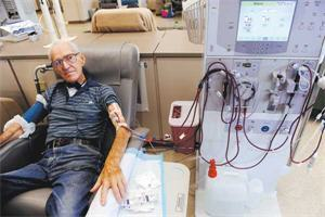 Joe Corrigan, Denver Dialysis Patient